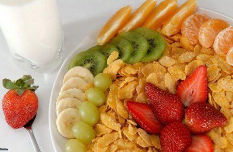 Fructele la micul dejun